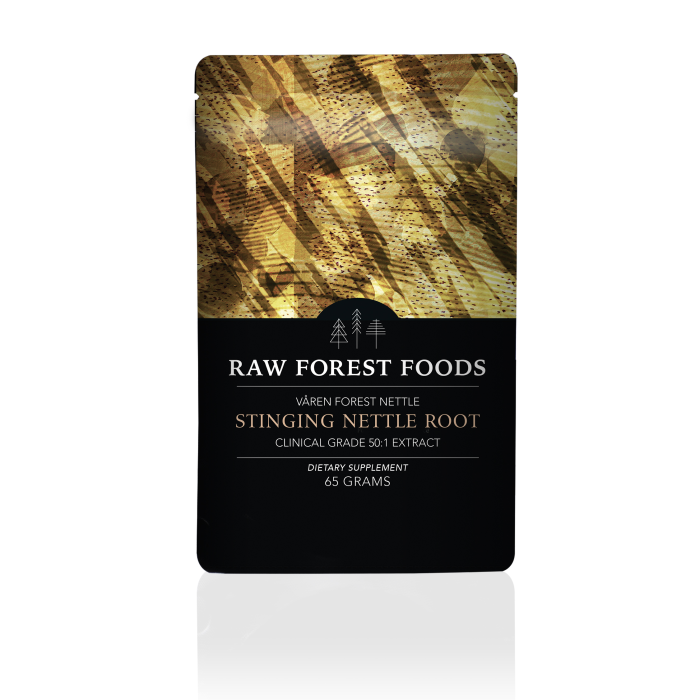 Våren Forest Nettle: Stinging Nettle Root Powdered 50:1 Extract
