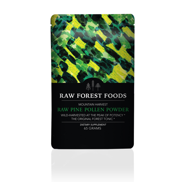Mountain Harvest RAW Pine Pollen Tablets